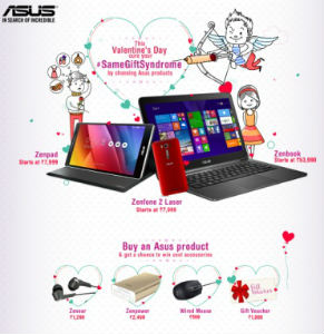 Grab gaming and other notebooks by ASUS at 0% EMI