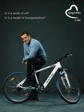 Salman Khan's Being Human E-Cycle