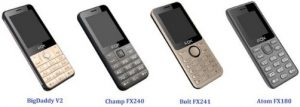 Basic Keypad Phones