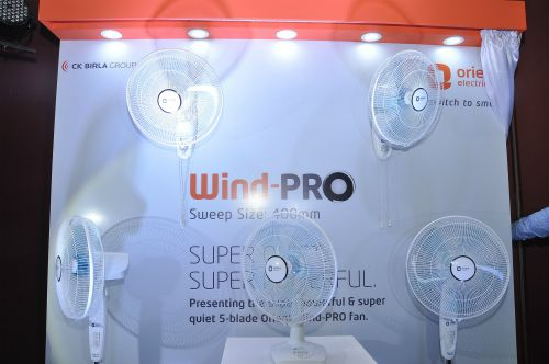 Orient Electric's new 5-blade Wind-PRO fans
