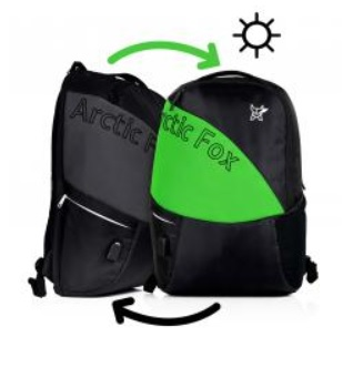 Colour Changing backpacks with USB port