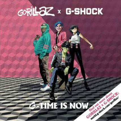 Casio India Gorillaz x G-SHOCK collaboration