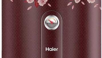 Haier India water heaters