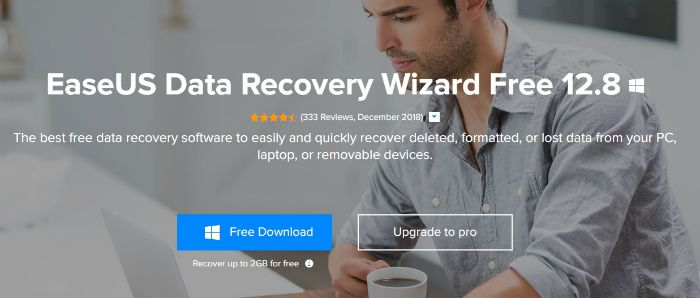 EaseUS Data Recovery Wizard Free 12.8