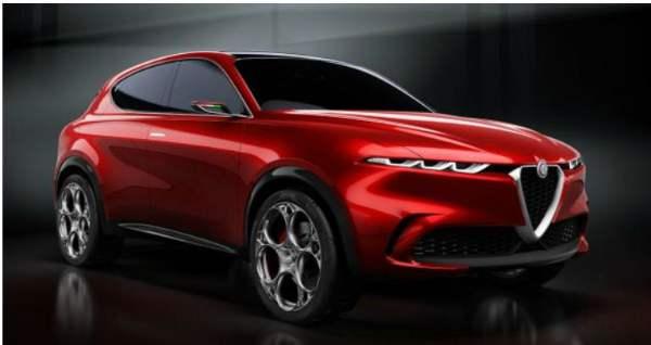 """Italian preview of the Alfa Romeo Tonale concept car at the """"Salone del Mobile.Milano"""""""