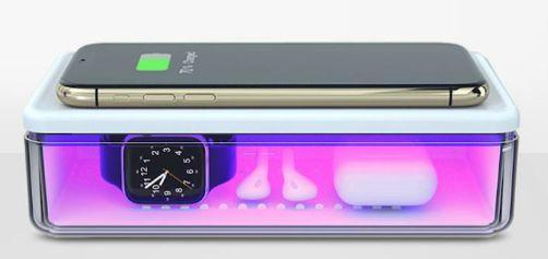 DailyObjects UV Sterilizer & Wireless Charger