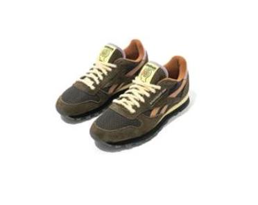 Reebok x Brain Dead Classic Leather shoe