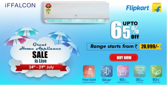 iFFALCON offers huge discounts on its Eco-topical Inverter air conditioners