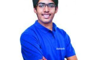 Aakash Institute Student Chirag Falor