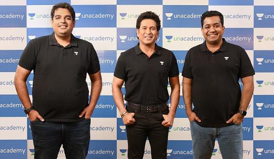 Sachin Tendulkar Enters Into A Strategic Investment With Unacademy