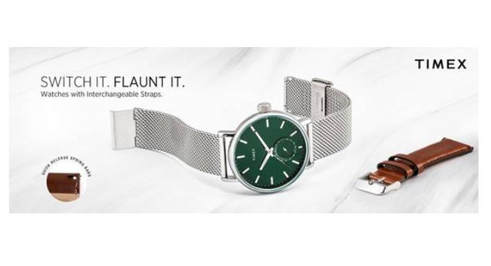 Timex all new SWITCH IT UP collection