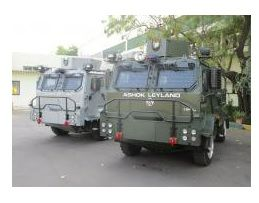 Ashok Leyland Delivers Light Bullet Proof Vehicles to Indian Air Force