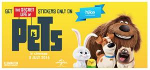 Hike-Messenger-The-Secret-Life-of-Pets-sticker-pack