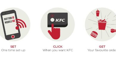 KFC-One-Click-Button