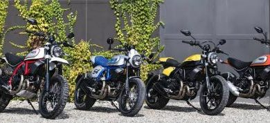 Ducati Scrambler range in India