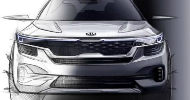 Kia reveals first images of new mid-SUV