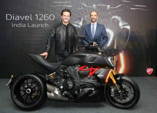 Ducati Diavel 1260 and 1260 S