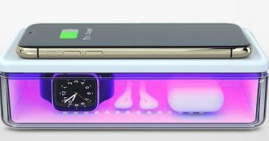 DailyObjects UV Sterilizer & Wireless Charger