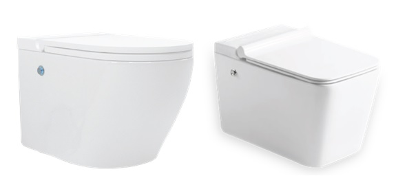 Hindware Italian Collection Tankless Wall Mounted EWC