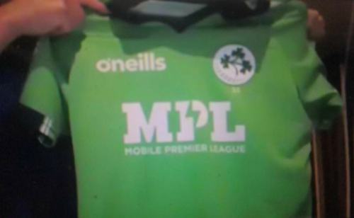 MPL sponsors Ireland Men's Cricket Team Jerseys