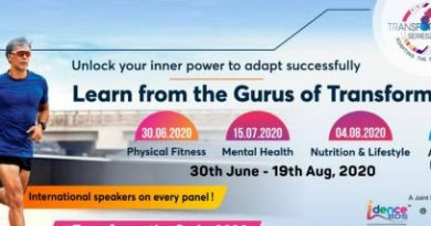Milind Soman Transformation Series session on Mental Health