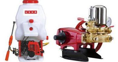 Usha International SprayMax range of agricultural sprayers