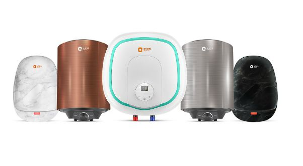 Orient Electric storage and instant water heaters
