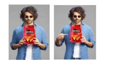 Kartik Aaryan Appointed As Brand Ambassador of Doritos in India