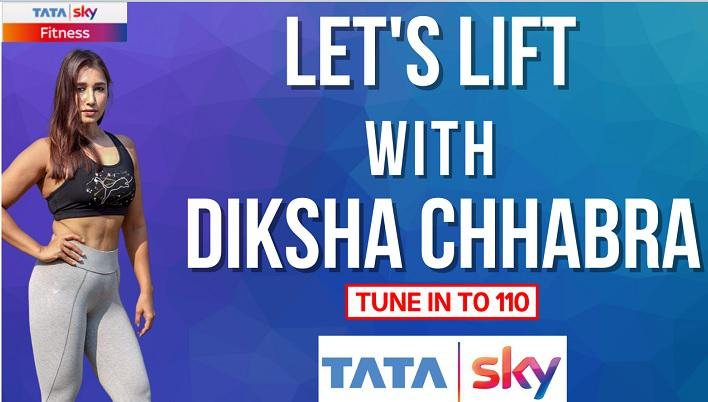 Tata Sky ties-up with fitness entrepreneur Diksha Chhabra for fitness show