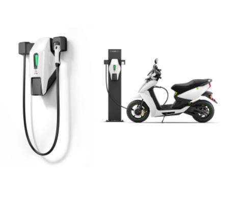 Ather Energy fast-charging connector