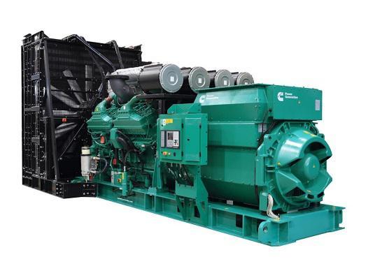Cummins India QSK60 G23 2500-2750 kVA Diesel Generator (DG)