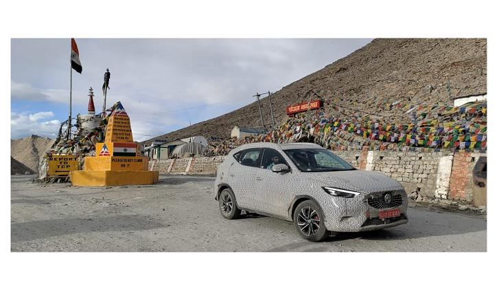 MG Astor conquers extreme heights of Ladakh