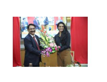 PV Sindhu launches Bank of Baroda's all new Corporate Website